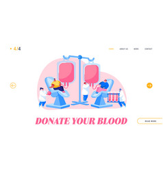 World blood donor day donation health care vector