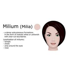 milium vector image vector image