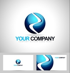 Sphere Logo Design vector image