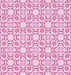 crimson floral vector image vector image