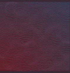 digital sound wave distortion equalizer frequency vector image vector image