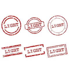 Light stamps vector image