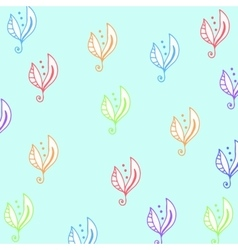 Seamless floral pattern for fabrick or babyroom in vector image vector image