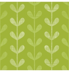 Abstract textile green vines leaves seamless vector image