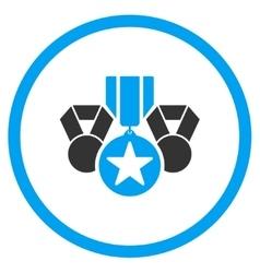Army awards icon vector