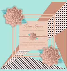 banner postcard modern for the holidays vector image