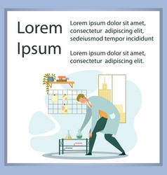 Chemists scientists equipment at laboratory poster vector