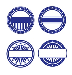 Set of circle icons vector
