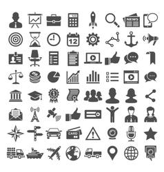 Universal icon set 64 icons vector