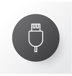 Usb cable icon symbol premium quality isolated vector