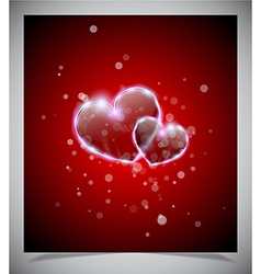 Abstract valentine days background vector image vector image