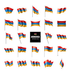 Armenia flag vector