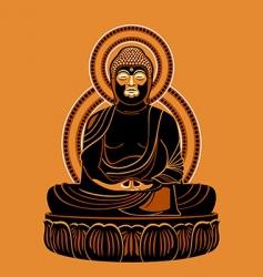 Buddha Amitabh vector image