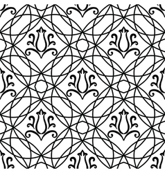 Moroccan tiles ornaments vector image