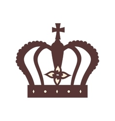 royal crown london icon graphic vector image