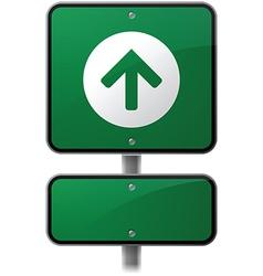 Growth Arrow Sign vector image vector image