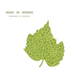 Abstract green natural texture leaf vector
