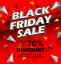 Black friday sale shopping offer and promotion vector
