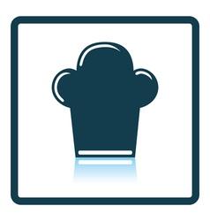 Chief cap icon vector image