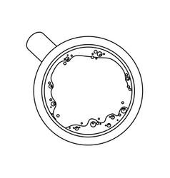 Cup or mug icon image vector