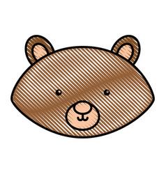 cute and tender chipmunk vector image