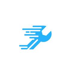 fast fix and repair logo icon design vector image