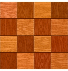 seamless oak square chess like parquet texture vector image