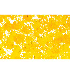 yellow spotted background as painted vector image