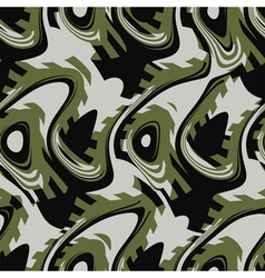Abstract textile print vector image vector image