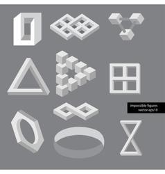 Optical symbols vector image