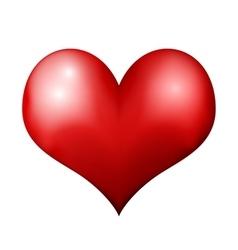 Big Red Heart vector image