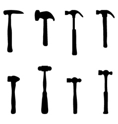 hammers vector image vector image