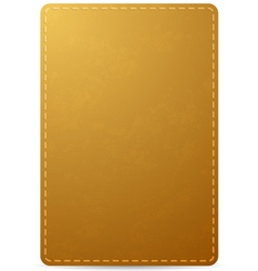 Leather Notebook vector image