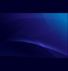abstract blue light wavy with hi-tech futuristic vector image