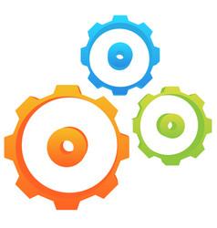 abstract gear wheel gear cogwheel graphic vector image