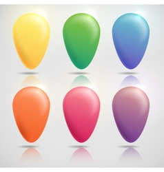 Colorful Buttons Art Background vector image