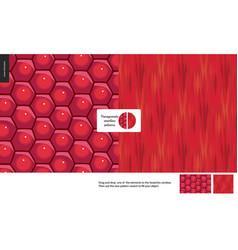 Food patterns fruit pomegranate vector