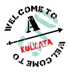 Kolkata stamp rubber grunge vector