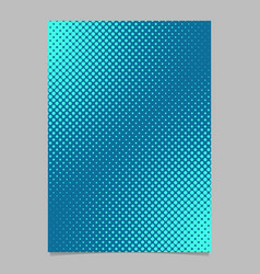Light blue halftone dot pattern page template vector