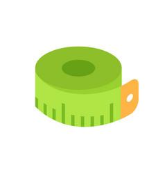 meter measurement icon closeup vector image