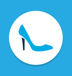 stiletto icon colored symbol premium quality vector image