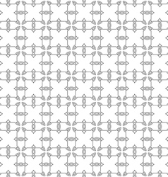 Seamless pattern of delicate grey lines on white vector image vector image