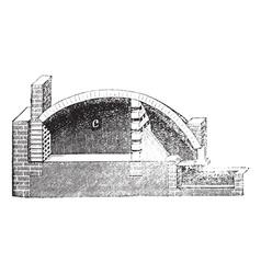 vintage Pottery Kiln vector image vector image