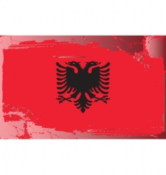 Albania national flag vector