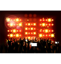 background crowd party people vector image