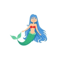 Green Hair Mermaid Vector Images 80