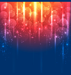 light gold and blue abstract background vector image