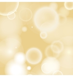 Warm bokeh blurred background vector