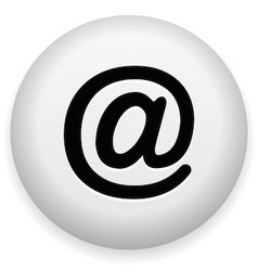 Email At Symbol vector image vector image