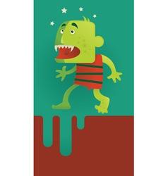 horor vector image